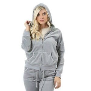Zenana Outfitters Gray Hoodie
